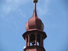 Výškové práce na kostele provedla firma Rekart